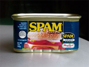 Spam, photo by Janet Galore