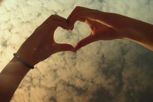 Hand Heart - Photo by Krystal T