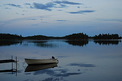Photo: Twilight Over the Lake